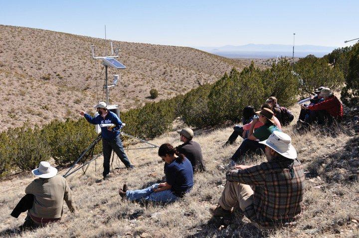 Field work at ASU School of Earth and Space Exploration